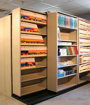 Business Storage Solutions in Michigan | FTECH Organization & Storage - callout-shelving